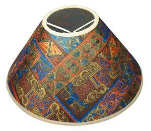 Abażur 200x65x115 mozaika brąz