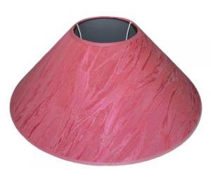 Abażur 400x120x160 różowy bawełna