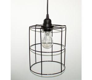 Lampa loft walec kosz 170x210