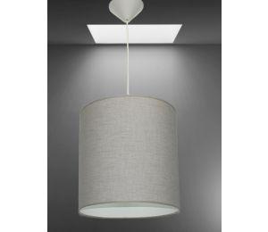 Lampa E-Z walec 300x300 bawełna grube włókna
