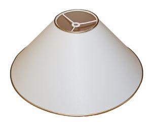 Abażur 350x100x160 bawełna, złoy lub srebrny brzeg